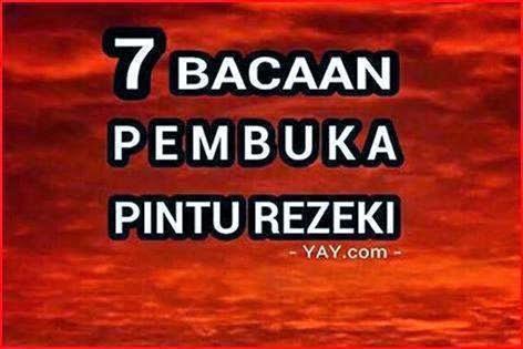 7 ZIKIR PEMBUKA PINTU REZEKI SETIAP HARI