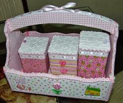 Kit Higiene menina Giovanna