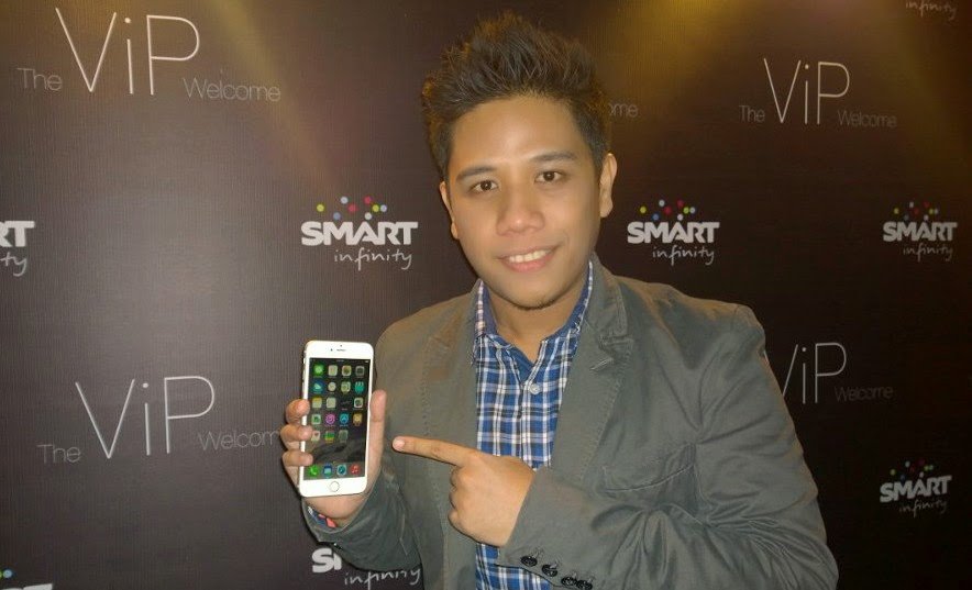 Smart iPhone 6, Smart iPhone 6 Plus, Mark Milan Macanas, Smart Infinity VIP Welcome