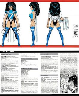 Zaladane (ficha marvel comics)