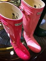 Hunter Rain Boots Pink1