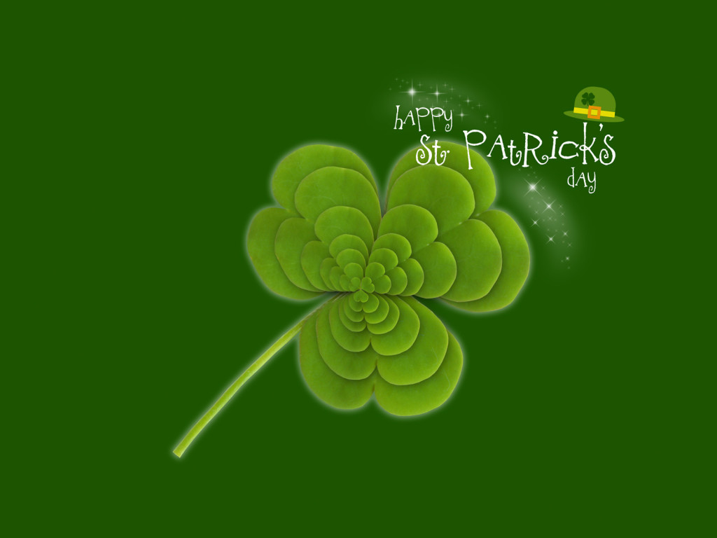 Free download st patrick 39 s day powerpoint backgrounds ppt garden - Saint patricks day wallpaper free ...