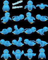 Cara Membuat / Memasang Widget Burung Twitter Terbang Di Blog