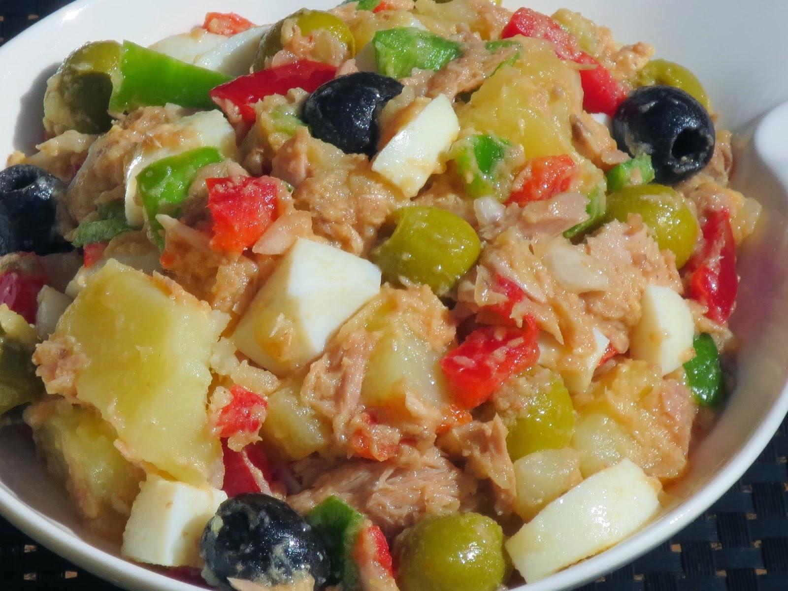 Ensalada campera for Cocina tradicional