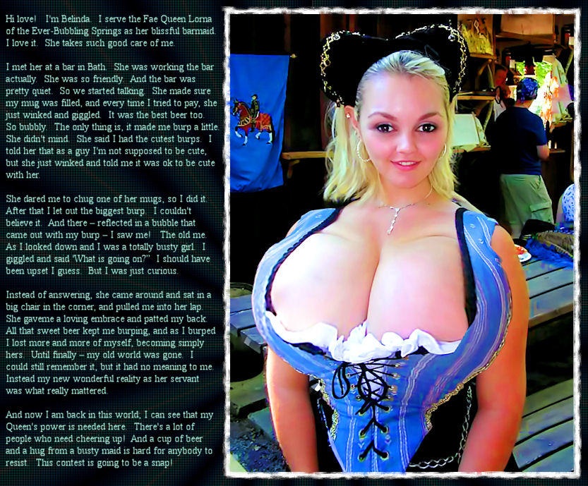 image Busty barmaid sucks and fucks at workplace
