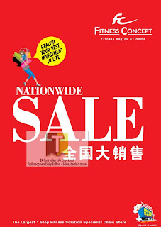 Fitness Concept 1Malaysia Nationwide Sale 2012