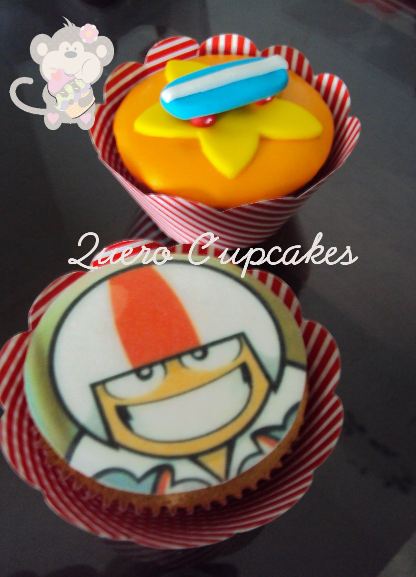 decoracao festa infantil kick buttowski:Quero Cupcakes: Festa do Kick Buttowski