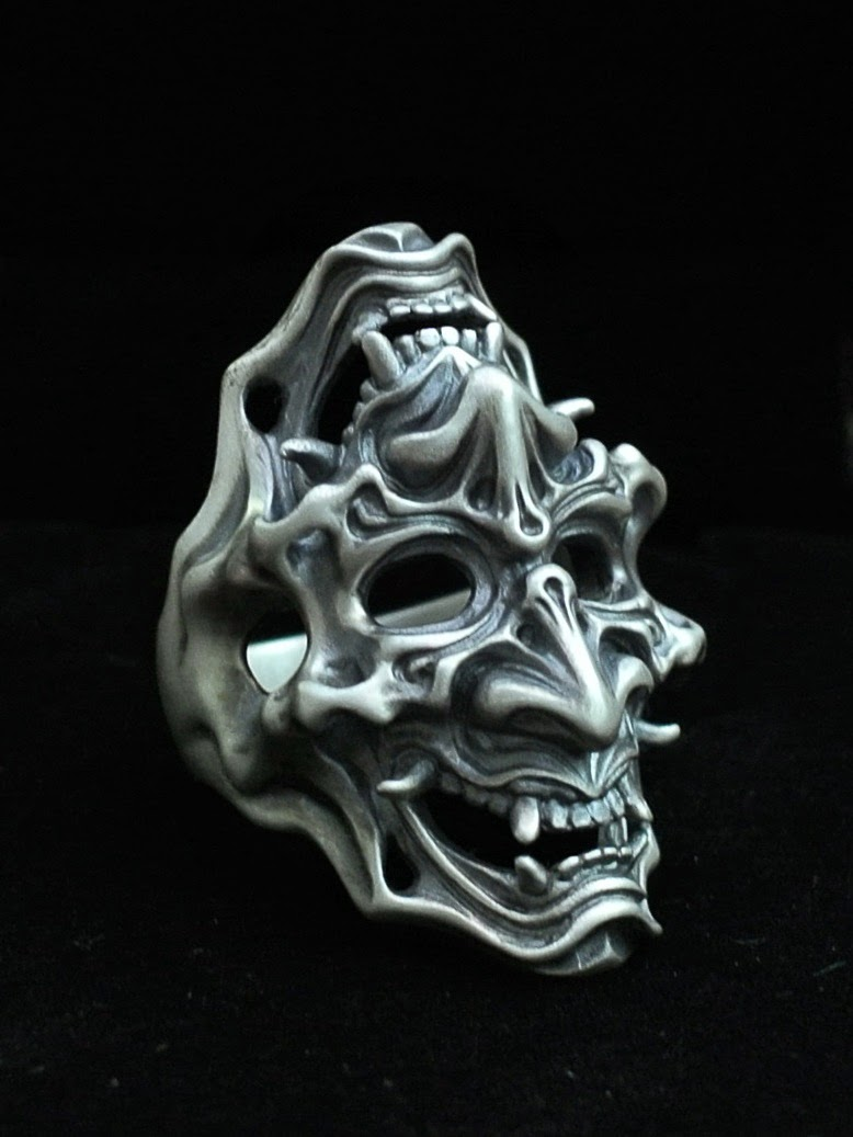 Double Face Ring by 杉山孝博 dual flow - Dress Code Limited Item