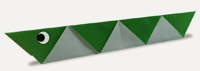 Hướng dẫn cách gấp con Rắn bằng giấy đơn giản - Xếp hình Origami với Video clip