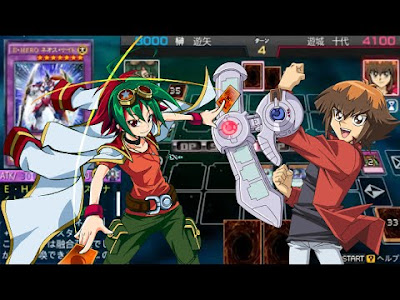 Yu-Gi-Oh! ARC-V Tag Force Special ENG Patched PSP GAME