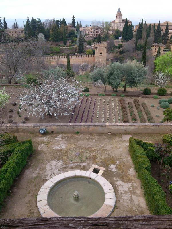 Mis viajes por el mundo jardines del generalife granada - Jardines granada ...