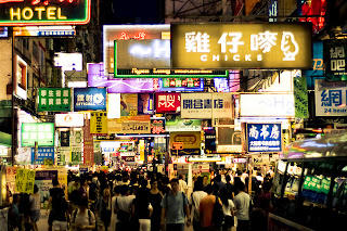 Busy Streets of Mongkok