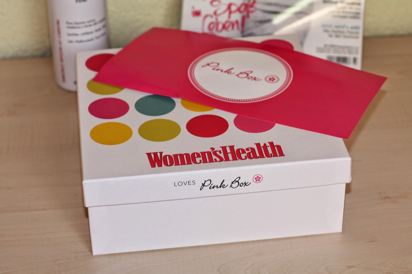 Pink Box März, Special Pink Box, Pink Bos, Patrizia Paul, Beauty Box, Woman's Health Pink Box