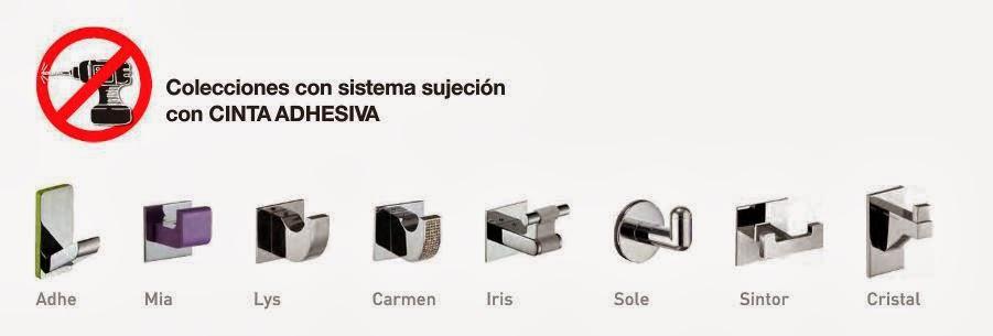 El blog del ba o 10 01 2013 11 01 2013 for Accesorios adhesivos para bano