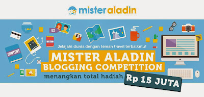 Mister Aladin blogging competition