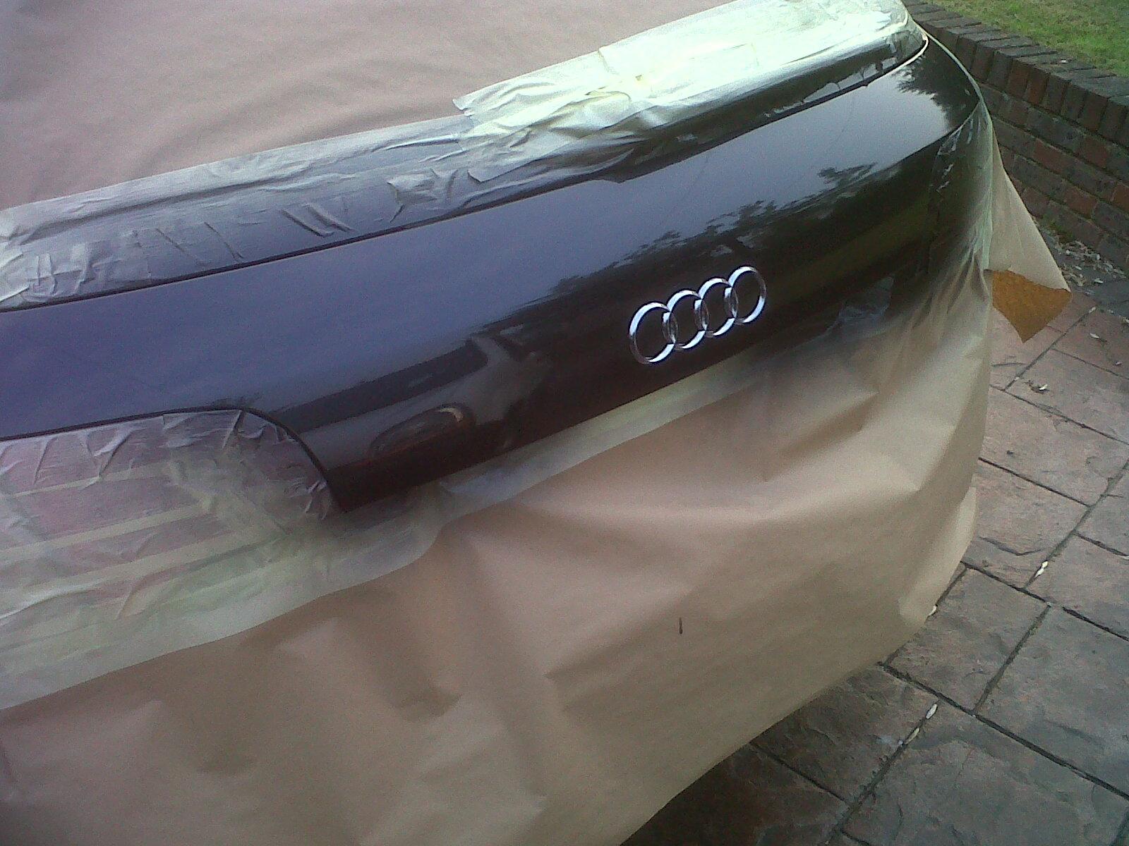 how to fix car bumper dent