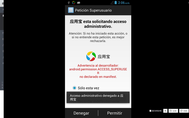 Eliminar Desinstalar aplicaciones de fabrica en Android