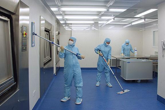 Iv Clean Room