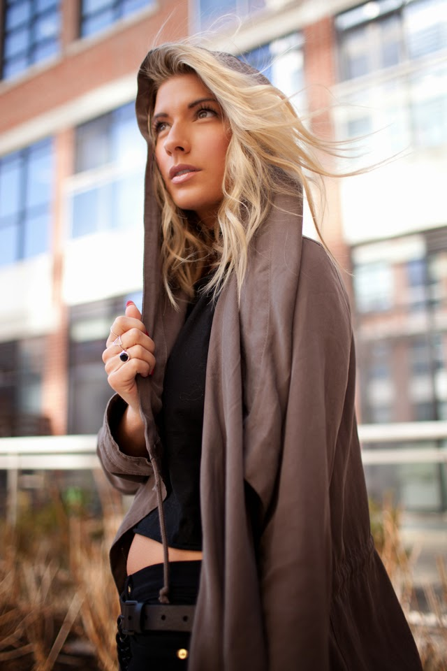 Urban outfitters slouchy trench, Silence + Noise Parka, Slouchy Trench