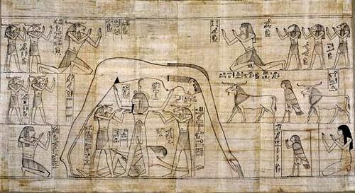Resultado de imagen de puntos cardinales a traves de los elementos-egipto