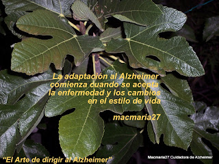 Alzheimer cuidadora