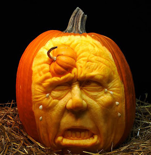 Breaking paranormal news october 2012 - Breathtaking halloween decoration using batman pumpkin carving ...