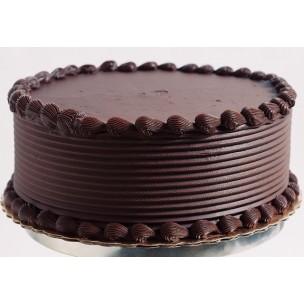 Dark Chocolate Cake with Raspberry filling