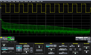 Spectrum Analyzer software for the HDO series oscilloscopes provides an intuitive user interface