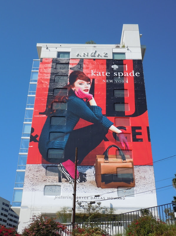 Giant Kate Spade Fall 2011 fashion billboard