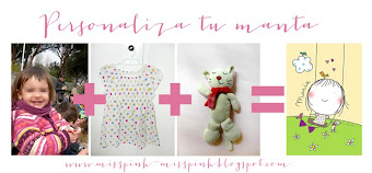 Mantitas misspink personalizadas