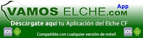 Aplicación móvil Elche CF
