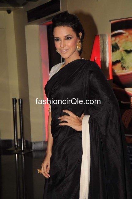 Neha stands in a side pose - (3) -  Neha Dhupia at Maximum Film Music launch