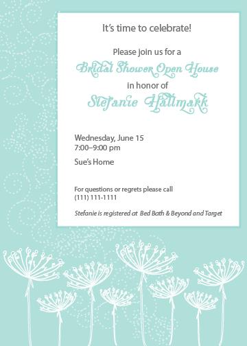 hallmark ink  invitation  stef u0026 39 s bridal shower