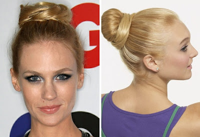 Workout Hairstyles 2012 - Bun