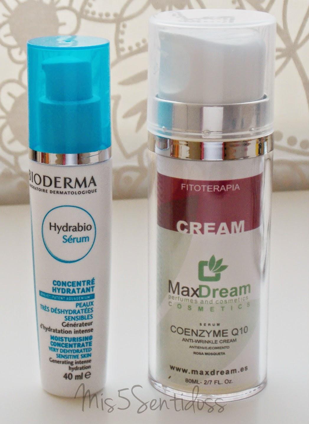 Bioderma Hydrabio & Max Dreams Coenzyme Q10