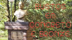 Bustos em Concreto e Bronze