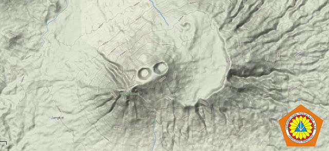 Peta Topografi Masurai