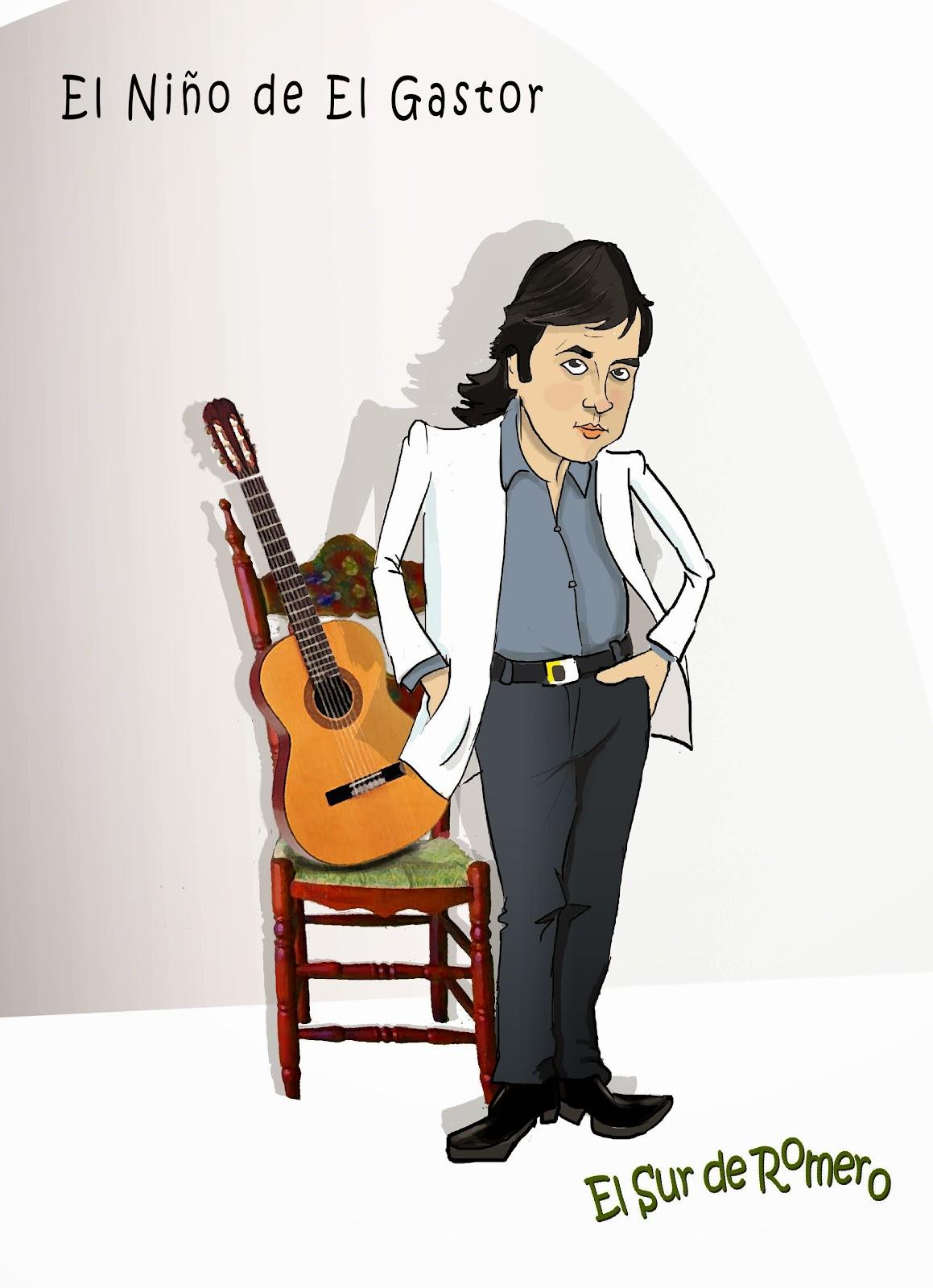 """<img src=""""El niño de El Gastor.jpg"""" alt=""""cantaor flamenco en dibujo""""/>"""