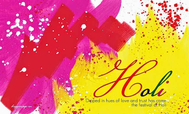 Dipped in hues of love and trust has come the festival of Holi