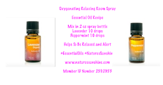Oxygenating Relaxing Room Spray  Essential Oil Recipe