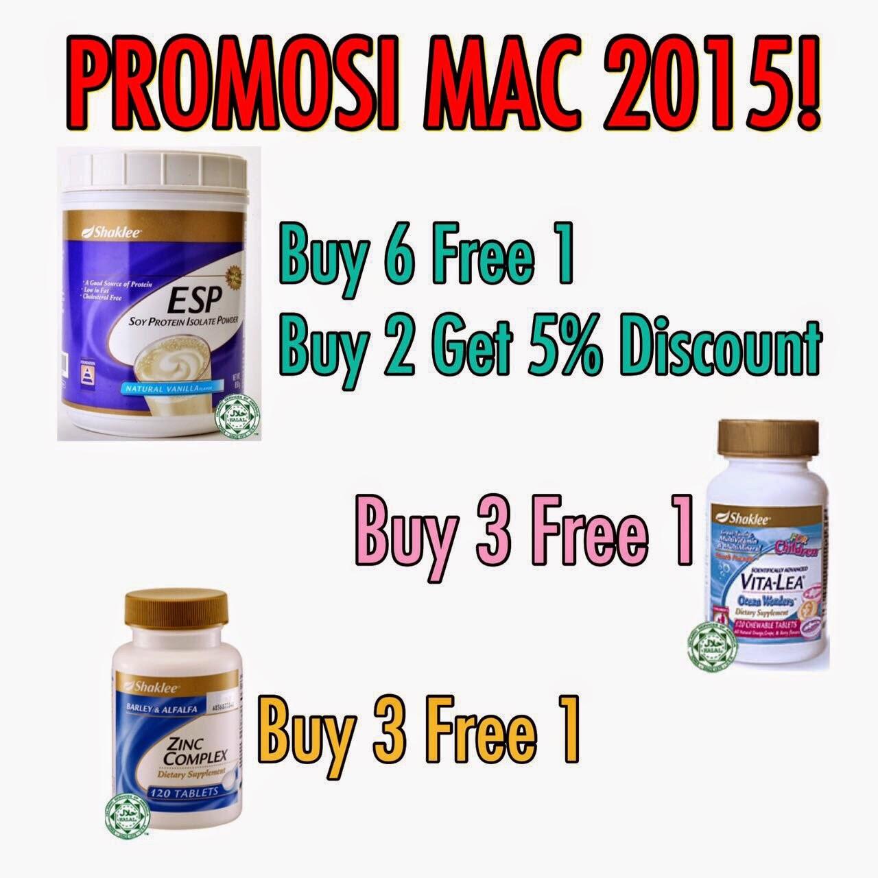 Promo Mac15 ::: ESP, Zinc dan Vitalea for Children