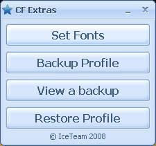 Download cfx camfrog font