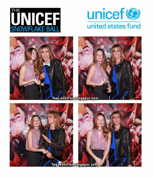 Téa Leoni and West Duchovny - Unicef Snowflake Ball 2013