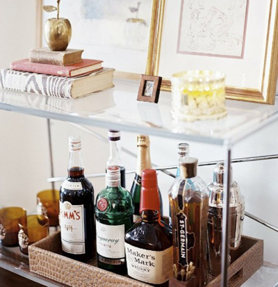 The Design Boards Creating A Home Bar For The Holidays