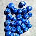 Perle Blu oceano variegate