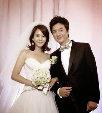 Foto pernikahan Kim Nam Joo