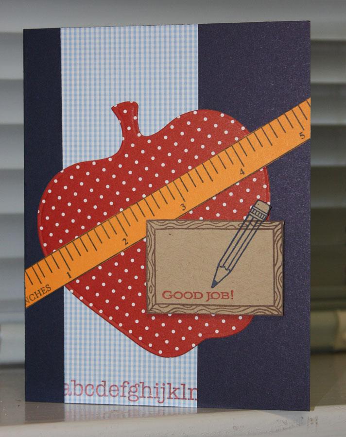 amethystcat designs stamping with seleise teacher retirement card