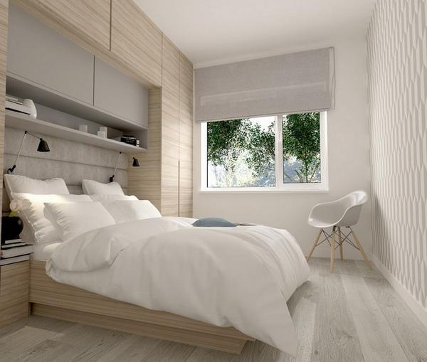 ... de meubles de chambre à coucher pour agrandir visuellement lespace