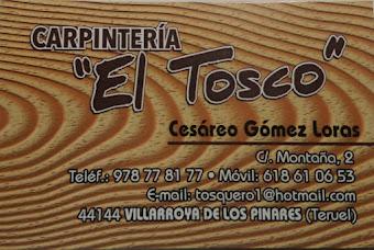 """Carpintería """"EL TOSCO"""""""