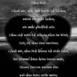 gedicht verzweiflung liebe liebe: